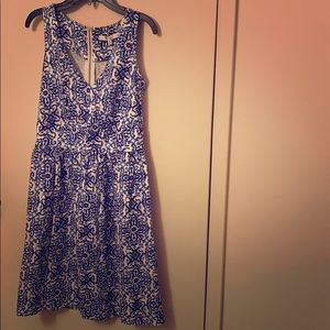 Brand new Milly for Design Nation blue dress